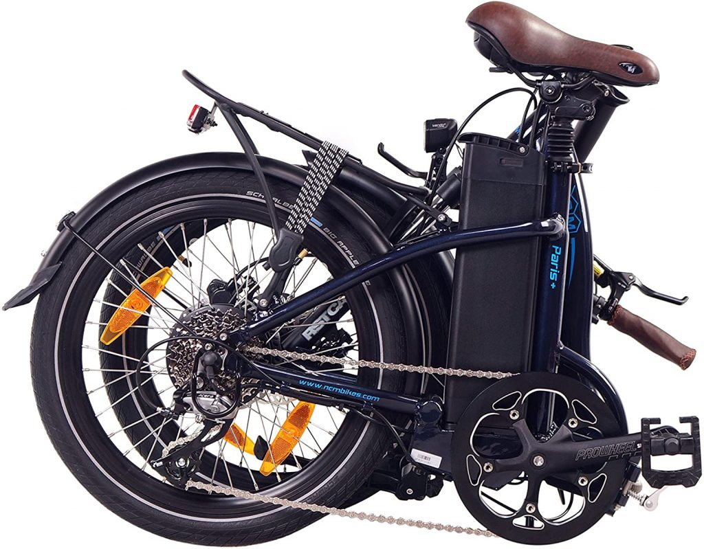 NCM bici eléctrica plegable